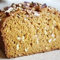 Vegan Pumpkin-Coconut Bread by Tablespoon