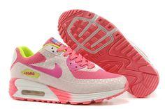 Air Max 90 Hyperfuse Premium Women's Shoe Grey / Pink Adidas Running Shoes, Nike Free Shoes, Nike Sneakers, Air Max Sneakers, Basket Nike Air, Baskets Nike, Nike Air Max Mens, Cheap Nike Air Max, Air Max 90 Hyperfuse