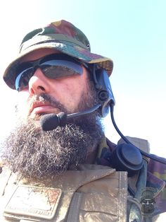 e511bf7f3c3 Tactical Beard Owners Club Worldwide · Training range selfie from our  brother Joeri from Belgium. Beside being a full time private