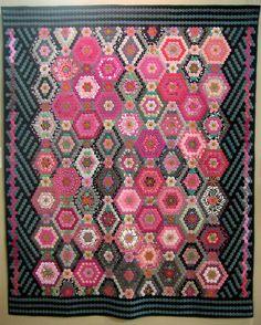 Japanese hexagon quilt