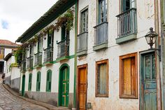 Diamantina  Colonial town in Minas Gerais state