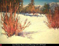 Jane Christie , Artist, Pastel Artist, Pastels, Saks Galleries, Cherry Creek, Denver, Colorado, Saks Art Gallery