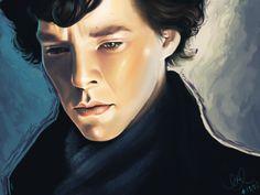 Sherlock Holmes by ~eeks on deviantART