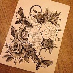 lantern tattoo - Google Search