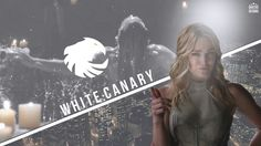 Caity Lotz White Canary In DC's Legends Of Tomorrow.