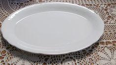 Homer Laughlin Platter Colonial Pattern White Platter Boho Wedding Decor by ReVintageLannie #antiqueplatter #turkeyplatter #Homerlaughlin #bohowedding