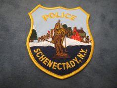G120   Obsolete Police Patch Schenectady