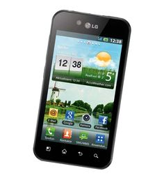 LG P970 Optimus Black | PhoneCity