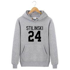 Palestino Men/Women Hoodies Wolf Stiles Stilinski Teen 24 Black Couples Hoodie Sweatshirt Pullover cotton