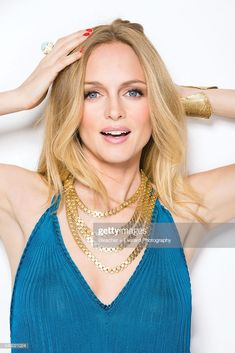 Actress Heather Graham is photographed for Glamour Mexico on March. Austin Powers Girls, Heather Graham, Azzaro, Power Girl, Gorgeous Women, Muse, Jordans, Celebs, Glamour