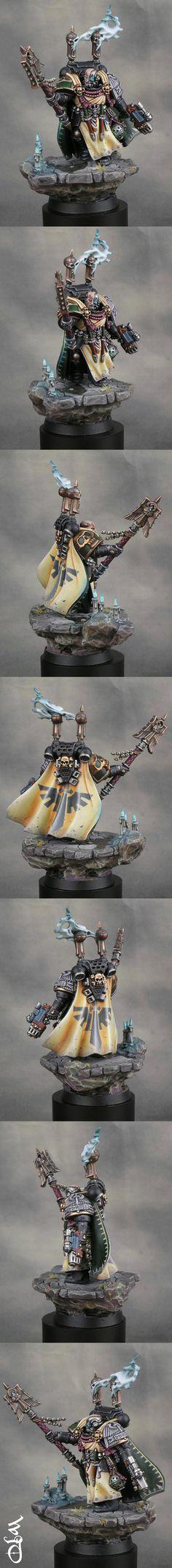 Dark Vengeance Limited Edition Interrogator Chaplain Seraphicus - Bronze 40K Single Category GDUK'12