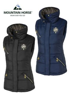 The perfect item for riding, walking or any outdoor pursuit; check out the #MountainHorse Cheval Vest.