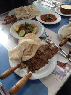 *****  Famous lamb dish from Erzurum city Cag Kebap. You may have a bite in Şehzade Erzurum Cağ Kebabı Restaurant in Sirkeci, Istanbul  / Turkey .   ~istanbul localfood~