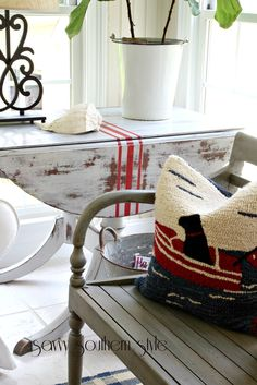 Savvy Southern Style: Grain Sack Inspired