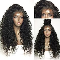 Synthetic Lace Front Wigs Rechoo Long Kinky Curly Thick F... https://smile.amazon.com/dp/B073F7GRRJ/ref=cm_sw_r_pi_dp_x_.CL4zbZ5GTPBX