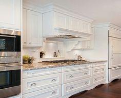 Benjamin Moore   Oxford White Cabinets