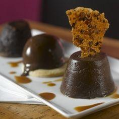 Trio of chocolate desserts @ Province (Chicago).