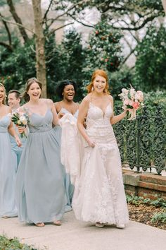 """From the editorial, """"A Watercolor Garden Wedding That's Prettier Than A Picture"""". The bride says, """"We wanted to get married in Columbia where we first met in college before our 21st birthday, which was one of our first dates! We fell in love with @lacehouse.at.arsenalhill and its gardens and knew it was perfect for a watercolor garden wedding of our dreams"""". 