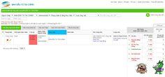 Giao diện trang chi tiết phần mềm quản lý tiến độ công việc