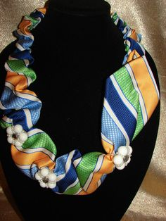 Recycled Necktie Upscale Neckties by ButterfliesandRoses on Etsy, $35.00
