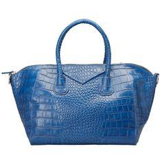 brown / blue / black fashion leather convertible crossbody shoulder tote handbag bag for women