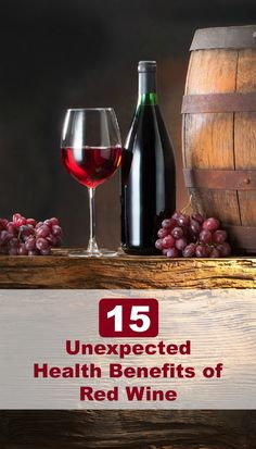 Red wine has been studied extensively over many years with impressive findings suggesting it may promote a longer lifespan, protect against certain cancers, improve mental health, and provide many health benefits.15 Unexpected #HealthBenefits of #RedWine - Selfcarers/  #healthyeating #hearthealth