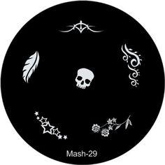 MASH Nail Art Stamp Stamping Image Plate No 29 by MASH, http://www.amazon.com/dp/B00BIP0CYA/ref=cm_sw_r_pi_dp_ESttrb0M5TXX5