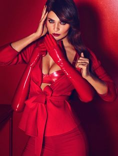 Helena Christensen Turns Up The Heat In Marie Claire Mexico By Hunter &Gatti - 3 Sensual Fashion Editorials | Art Exhibits - Anne of Carversville Women's News