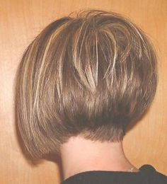 Short Stacked Bob Hairstyles | Back View Of Graduated Bob Hair Cuts image search results