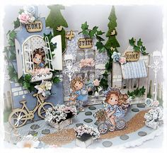 Home Sweet Home - Anything goes with an Image Ribbon Girl