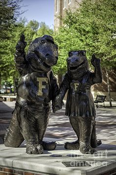 Albert And Alberta Uf Mascots