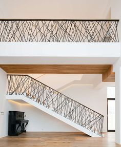 Contemporary Metal Stair Railings Interior Metal Staircase Railings Modern Interior Stair Railing Room Dividers Interior Stair Railing Staircase Railings And Interior Stairs Home Design Software Interior Stair Railing, Modern Stair Railing, Stair Railing Design, Metal Stairs, Stair Handrail, Staircase Railings, Modern Stairs, Railing Ideas, Banisters