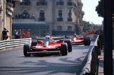 Jody Scheckter and Gilles Villeneuve at Monaco 1979