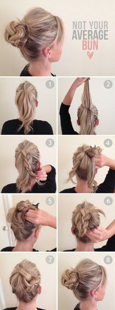 Hairstyle tutorial for this fall - Click image to find more hair posts