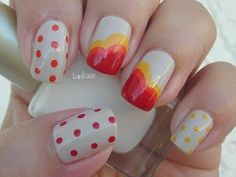 ▶ Thansgiving Day Nails - Uñas para el Dia de Accion de Gracias - YouTube