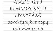 Här kan ni se de nya bokstäverna.