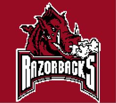 Looking for your next project? You're going to love Arkansas Razorbacks Graph by designer Celina86.