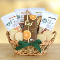 Starbucks Coffee and Organic Chocolate Gourmet Gift Basket | Great Coffee Gift Basket for the Coffee Lover! - List price: $62.44 Price: $49.95