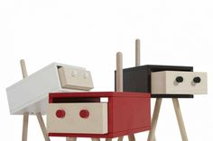 Neotoi Family: Furniture With Personality - Design Milk Family Furniture, Furniture Ads, Business Furniture, Steel Furniture, Furniture Companies, Cool Furniture, Furniture Design, Outdoor Furniture, Children Furniture
