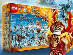 NEW Biggest Lego Set to Date! (The Ultimate Battle for Chima)