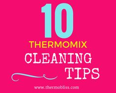 Keep your Thermomix looking sparking clean with out 10 Tips For Cleaning Your… How To Convert A Recipe, White Chocolate Oreos, Tupperware Recipes, Quirky Cooking, Oranges And Lemons, Food Places, Stressed Out, Everyday Food, Get One