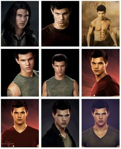 Jacob Black from beginning of the saga to the end Twilight Jacob, Twilight Wolf Pack, Twilight Saga Series, Twilight Edward, Twilight New Moon, Twilight Movie, Vampire Twilight, Twilight Quotes, Twilight Pictures