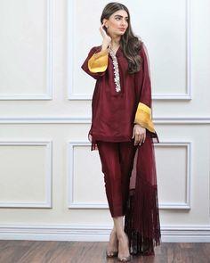 Simple Pakistani Dresses, Pakistani Wedding Outfits, Pakistani Dress Design, Indian Outfits, Bridal Outfits, Stylish Dresses For Girls, Beautiful Dresses For Women, Casual Dresses, Fashion Dresses