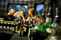 Bar Counter Royalty Free Stock Photo