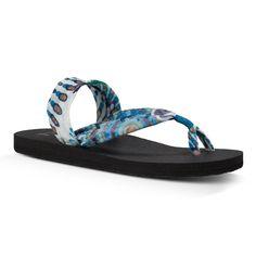 Sanuk Womens Yoga Sling It On Prints Sandal/Flip Flops/Slipper Footwear *** Awesome product. Click the image : Sanuk flip flops