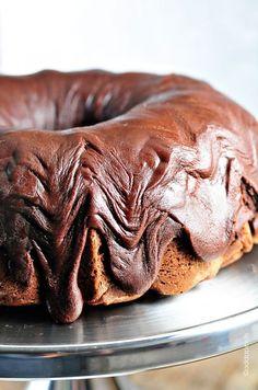 Chocolate Pound Cake Recipe -