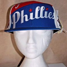MLB Philadelphia Phillies Vintage Fitted Professional 7 1/2 Hat American Needle #AmericanNeedle #Vintage #PhiladelphiaPhillies