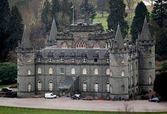 Inveraray Castle in Scotland