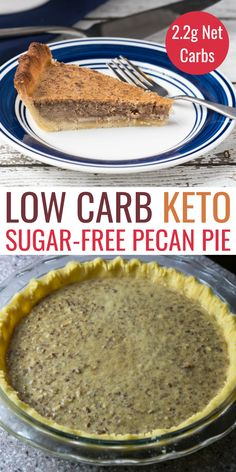 A delicious keto pecan pie is possible if you use the right sweetener. So good, you'll want to enjoy this holiday sugar free pie throughout the year.