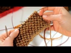▶ How to Do a Linen Stitch | Knitting - YouTube